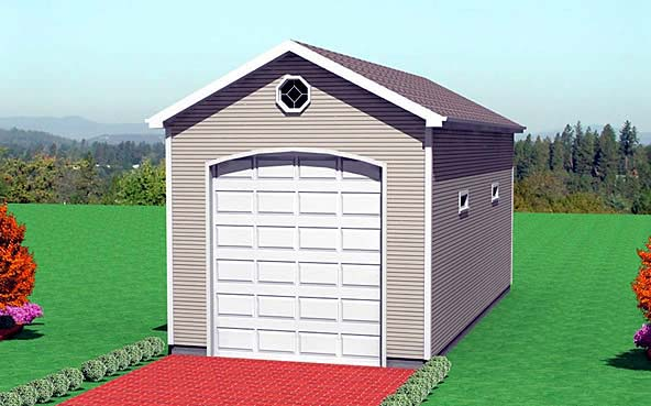 Garage Plan 67305 Elevation