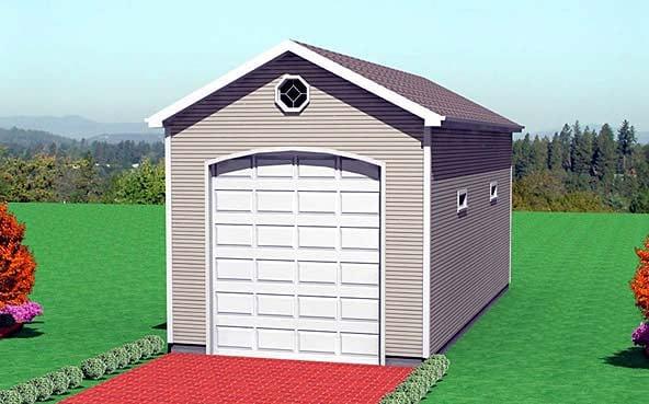 Garage Plan 67305 Elevation