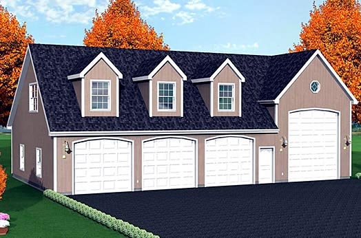 Garage Plan 67306 Elevation