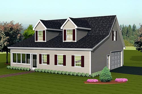 Garage Plan 67307 Elevation