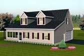 Plan Number 67307 - 1005 Square Feet