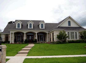 Country European House Plan 67403 Elevation