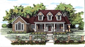 Cape Cod House Plan 67409 Elevation