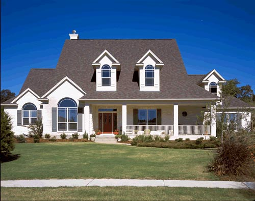 European House Plan 67414 Elevation