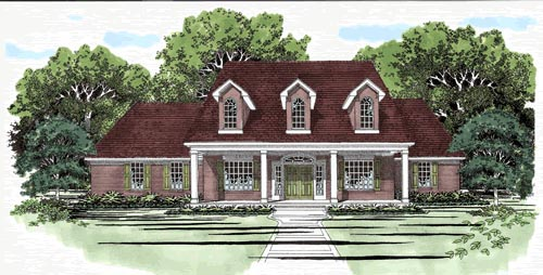 Cape Cod House Plan 67421 Elevation