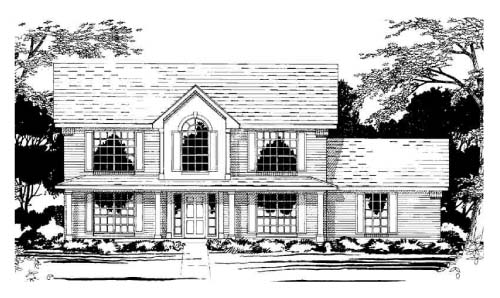 Traditional House Plan 67432 Elevation