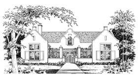 Mediterranean House Plan 67435 Elevation