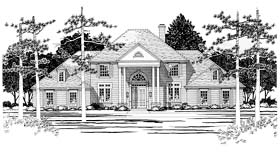 Colonial House Plan 67437 Elevation