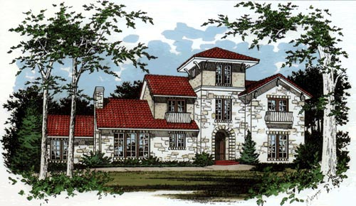 Mediterranean House Plan 67439 Elevation