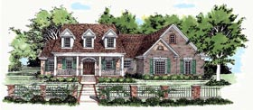 Cape Cod House Plan 67446 Elevation