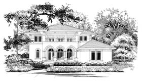 Mediterranean House Plan 67447 Elevation