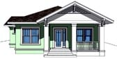 Plan Number 67500 - 1396 Square Feet