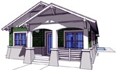 Plan Number 67501 - 1474 Square Feet