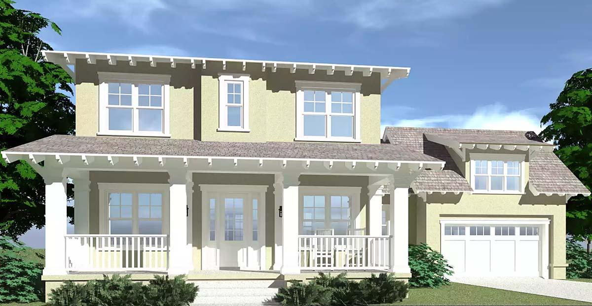 Bungalow House Plan 67502 Elevation