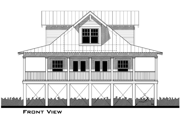 House Plan 67504 Elevation