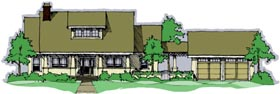 Country House Plan 67509 Elevation