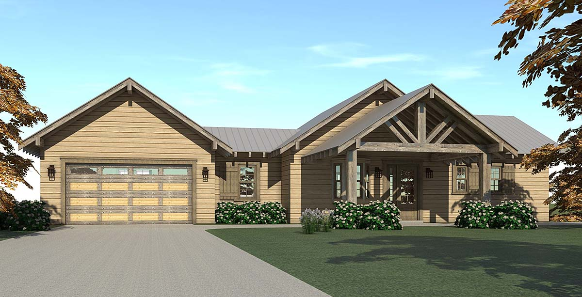 Tudor House Plan 67510 Elevation