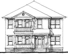 House Plan 67520