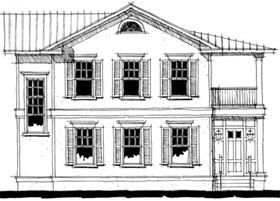 Southern House Plan 67526 Elevation