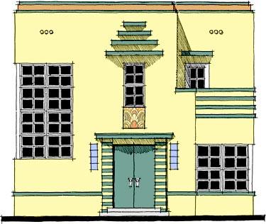Modern Southwest House Plan 67530 Elevation