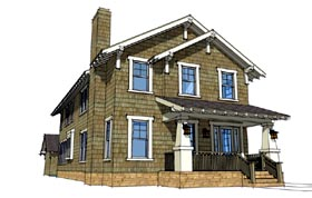 House Plan 67538 | Style House Plan with 3117 Sq Ft, 3 Bed, 3 Bath, 2 Car Garage Elevation