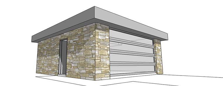 Garage Plan 67547 Elevation