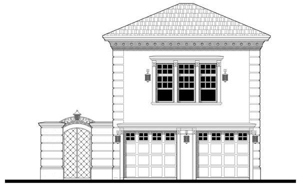 Garage Plan 67548 Elevation