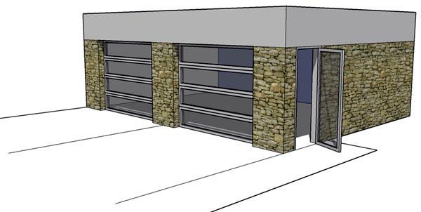2 Car Garage Plan 67550 Picture 1