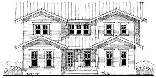Craftsman House Plan 67552 Elevation