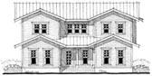 Plan Number 67552 - 2496 Square Feet
