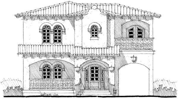 Mediterranean House Plan 67554 Elevation