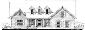 Traditional House Plan 67556 Elevation