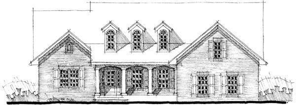 House Plan 67556