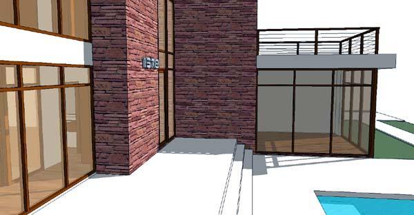 Modern House Plan 67558