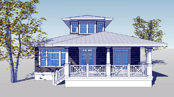 House Plan 67565 Elevation