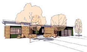 Contemporary Modern House Plan 67569 Elevation