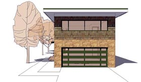 Contemporary Modern House Plan 67570 Elevation