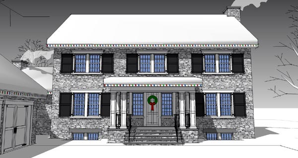 Traditional House Plan 67572