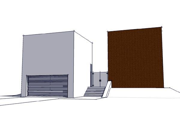 Coastal Contemporary Modern House Plan 67573 Elevation