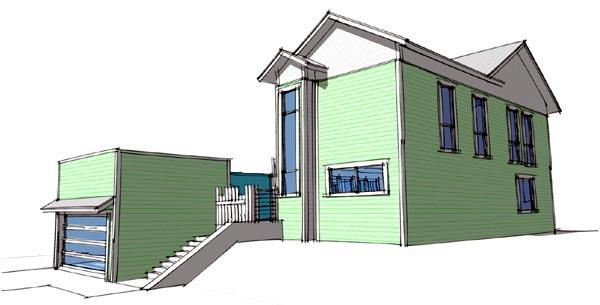 Coastal Modern House Plan 67578