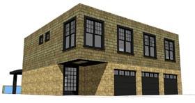Contemporary Modern House Plan 67586 Elevation