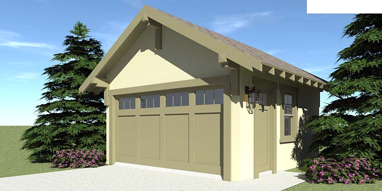 Craftsman Garage Plan 67587 Elevation