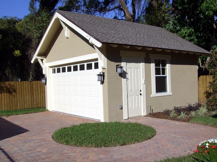 Craftsman Garage Plan 67587