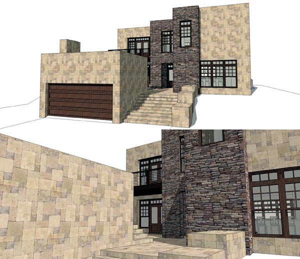 House Plan 67591 | Modern Style Plan with 2271 Sq Ft, 3 Bedrooms, 3 Bathrooms, 2 Car Garage