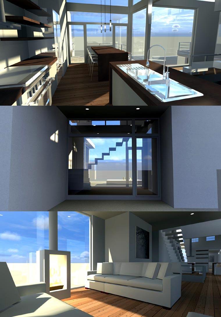 Contemporary Modern House Plan 67595