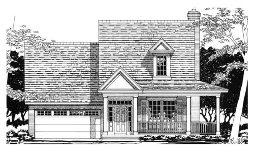 House Plan 67624