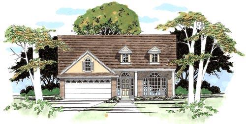 House Plan 67628