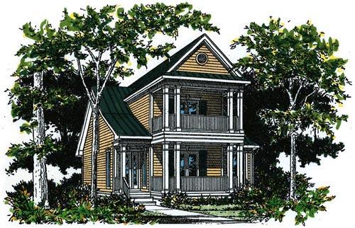 House Plan 67634