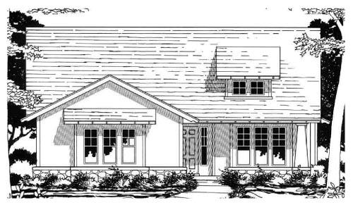 House Plan 67637