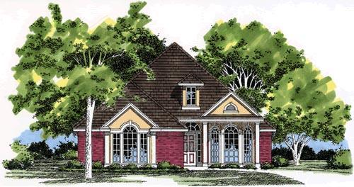 House Plan 67638
